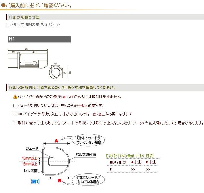 SANTECA 大型・小型用HIDキット HID (Mach-02-12SW) の商品ページ