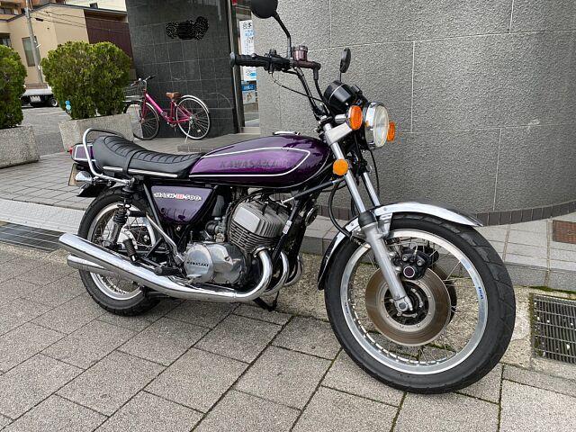 500SS マッハIII (H1) カワサキ 500SSマッハIII H1F 国内モデル 1974年