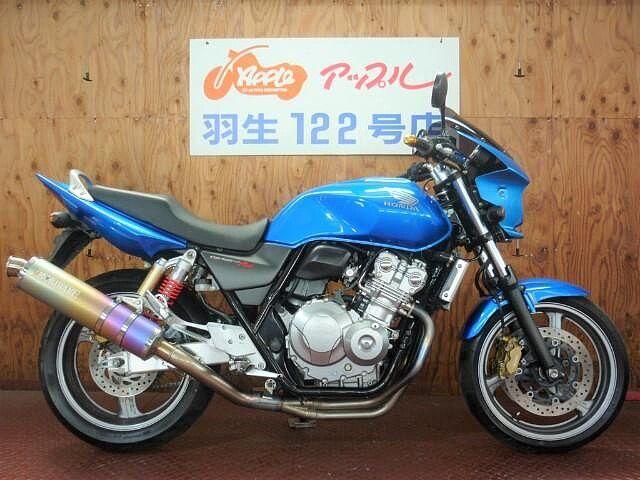 CB400スーパーフォア モリワキフルエキゾーストマフラー ビキニカウル