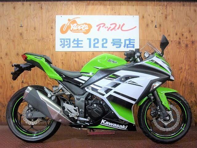 ニンジャ250 ABS ライムグリーン