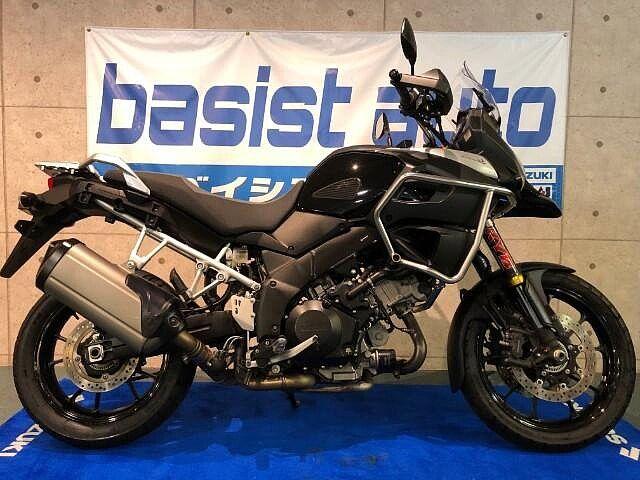 Vストローム1000 ABS エンジンガード・ETC車載器装備済み