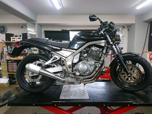 SRX600 ヨシムラ サンパー