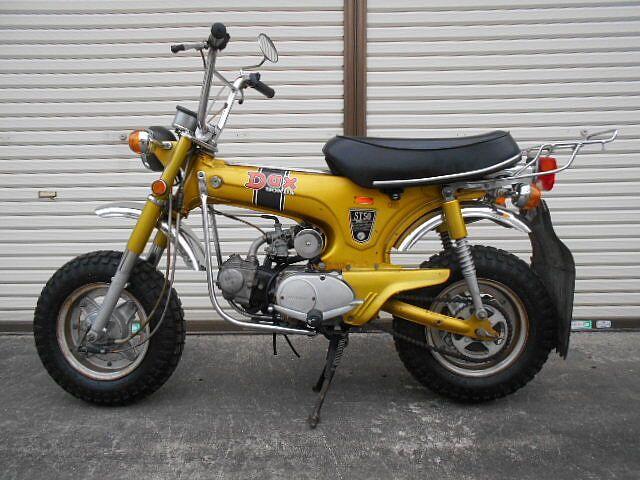 ダックス 昔良き時代?のバイクです
